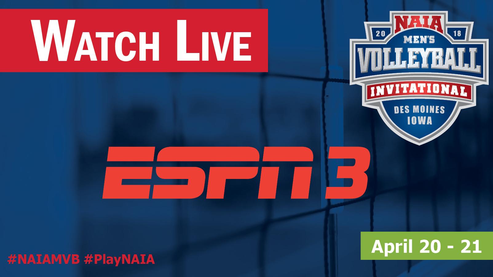 MVB Semifinals & Finals on ESPN3
